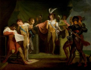 Fuseli's painting of Henry V, Royal Shakespeare Company Collection; Supplied by The Public Catalogue Foundation
