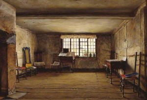 Henry Wallis's painting The Room in which Shakespeare was Born