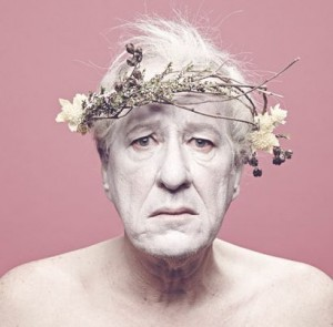 Publishing shot of Geoffrey Rush as King Lear