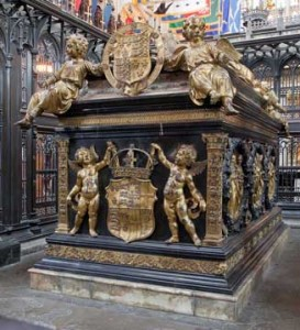 The tomb of Henry VII, Westminster Abbey