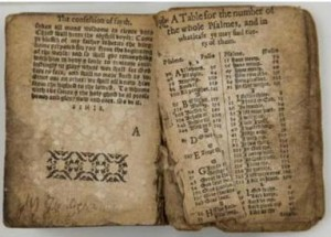 """One of the pages of """"Shakespeare's Prayer Book"""""""