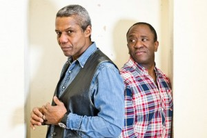 Hugh Quarshie and Lucian Msamati
