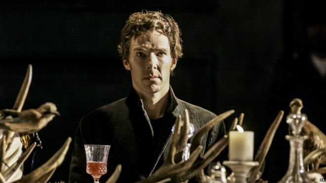 """To be or not to be"""": Benedict Cumberbatch's Hamlet 