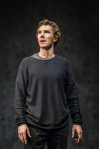 Benedict Cumberbatch as Hamlet. Photo by Johan Persson