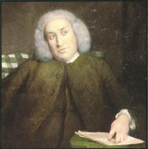 Joshua Reynolds' painting of Samuel Johnson, at the National Portrait Gallery