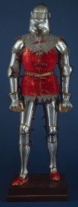 Italian armour from 1400. Metropolitan Museum of Art