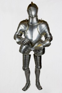 1590 Suit of armour made in Greenwich. Royal Armouries