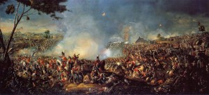 William Sadler's painting of the Battle of Waterloo
