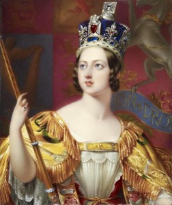 Queen Victoria, painted by George Hayter