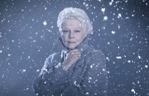Publicity shot for Judi Dench as Paulina. Photographer Johan Persson