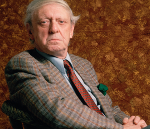 Anthony Burgess in 1989