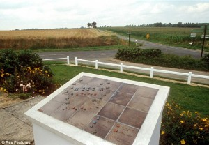 The site of the battle of Agincourt today