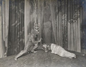 Oberon and Titania from A Midsummer Night's Dream, Savoy Theatre 1914