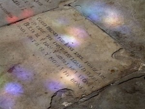 Shakespeare's gravestone