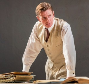 Charles Edwards as Trebell, Waste, National Theatre 2015