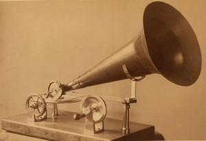 An early gramophone