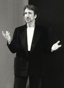 Alan Rickman as Jaques in As You Like It, RSC 1985