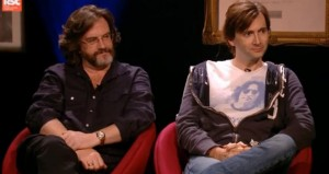 Gregory Doran and David Tennant on the Andrew Marr Show