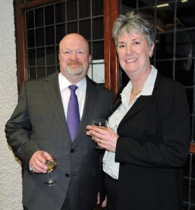 David and Mrs Fallow at the Shakespeare Club