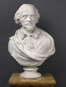 Cheere's marble bust of Shakespeare