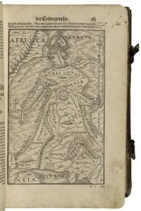 Sebastian Munster's Cosmographia, 1588