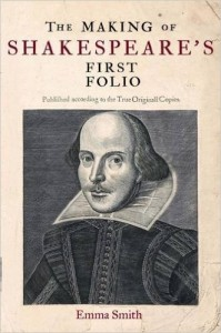 making of shakespeare folio