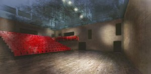 Artist's impression of The Other Place auditorium