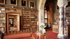 The library at Mount Stuart House, Isle of Bute