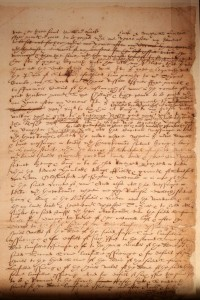 Page 2 of Shakespeare's will