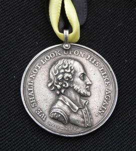 Garrick Jubilee medallion