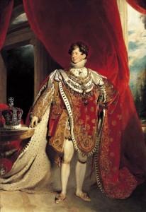 King George IV's Coronation portrait