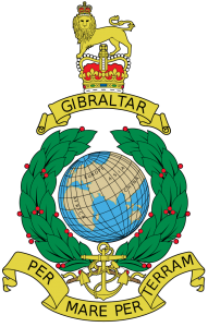 The badge of the Royal Marines