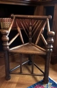 The chair including Shakespeare's wood
