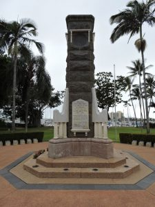 Townsville's Memorial to those who died in World War 1