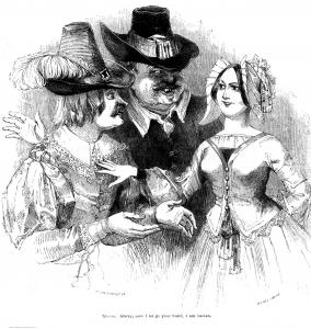 Kenny Meadows' illustration for Twelfth Night