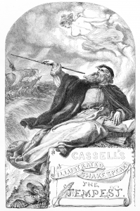 Prospero in The Tempest by Selous