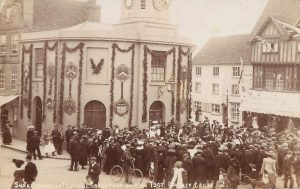 The 1907 Celebrations showing the top of Bridge Street