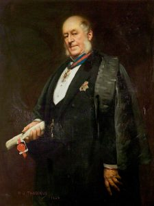 Thaddeus, Henry Jones; Sir Arthur Hodgson, KCMG, DL, JP, Mayor (1883-1888), High Steward (1896-1902); Stratford-upon-Avon Town Hall; http://www.artuk.org/artworks/sir-arthur-hodgson-kcmg-dl-jp-mayor-18831888-high-steward-18961902-55784