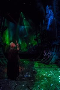 A scene from the RSC's Tempest, Simon Russell Beale as Prospero